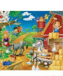 150 Parça Çocuk Yap boz 35x50 Puzzle Keskin Color Puzz Hayal Dünyası Model 1
