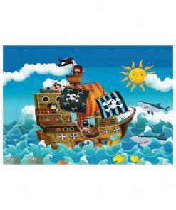 150 Parça Çocuk Yap boz 35x50 Puzzle Keskin Color Puzz Korsanlar Model 9