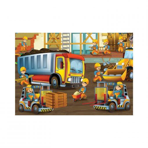 150 Parça Çocuk Yap boz 35x50 Puzzle Keskin Color Puzz Sevimli Hayvanlar Model 7