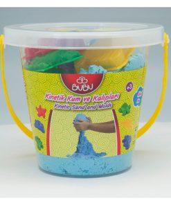 Bu-Bu Kinetik Kum Kova 1000 gr. Mavi