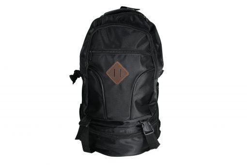 Dağcı Komando Sırt Çantası Avcı Erkek Kamp Yürüyüş Dağ Trekking Çantası Siyah Renk