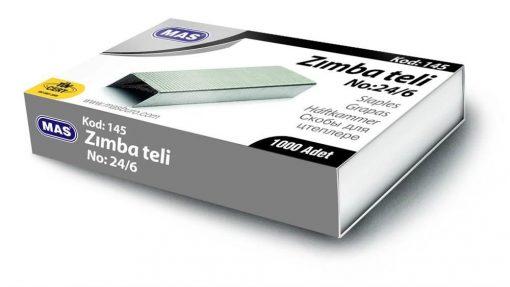 Mas Zımba Teli No: 24/6 Beyaz Renkli Zımba Teli