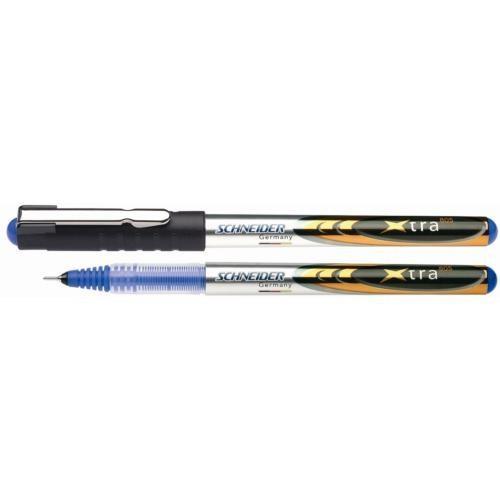 Schneider 0.5mm İğne Uçlu Roller Kalem Mavi Renk Xtra 805