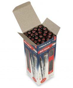 Pensan My-Tech 0.7 mm Tükenmez Kalem Kırmızı Renk 25li Tükenmez Kalem