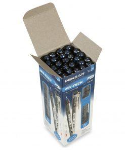 Pensan My-Tech 0.7 mm Tükenmez Kalem Mavi Renk 25li Tükenmez Kalem