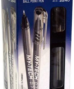 Pensan My-Tech 0.7 mm Tükenmez Kalem Siyah Renk 25li Tükenmez Kalem