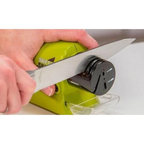 Pilli Bıçak Bileyici Makas Bileme Makinesi Tornavida Bileyleyici Aleti Swifty Sharp Bileyleme