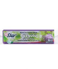 Starplus Çöp Torbası Büzgülü Orta Boy Lavanta120gr 55x60