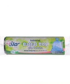 Starplus Çöp Torbası Endüstriyel Battal Boy Siyah 300gr 75x90