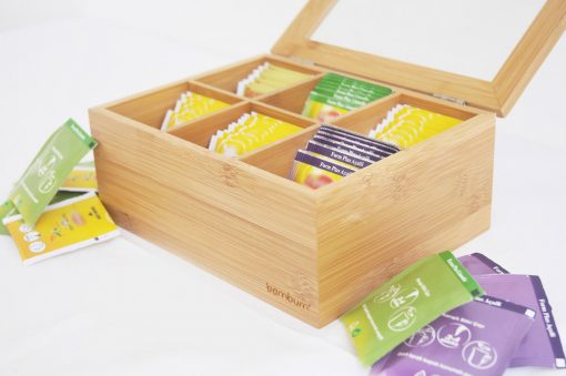 Bambum Çay Saklama Kabı 6 Bölmeli BCYM1 Misto