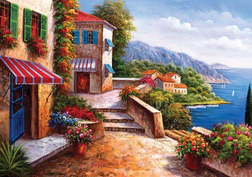 1000 Parça Yap boz Puzzle Amalfi Coast (11335) 68x48 Ks Games