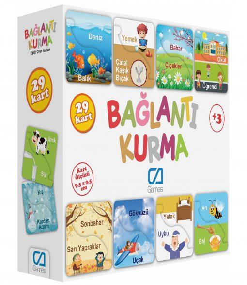 Bağlantı Kurma Eğitici Çocuk Oyunu 29 Parça Oyun Seti Ca Games 5043