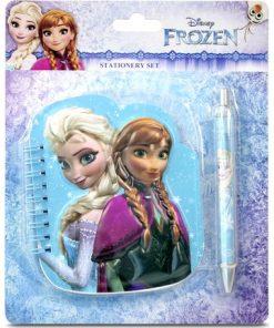 Frozen Elsa Karlar Ülkesi Not Defteri Kalem Seti Disney Frozen Fr-3033