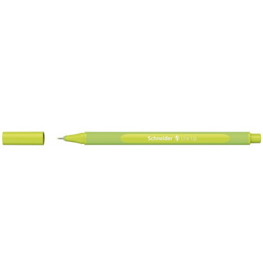 Schneider Line Up Fiber Uçlu Kalem 0.4 mm Kalem Apple Green Yeşil 191011