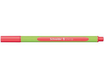 Schneider Line Up Fiber Uçlu Kalem 0.4 mm Kalem Neon Red Kırmızı 191060