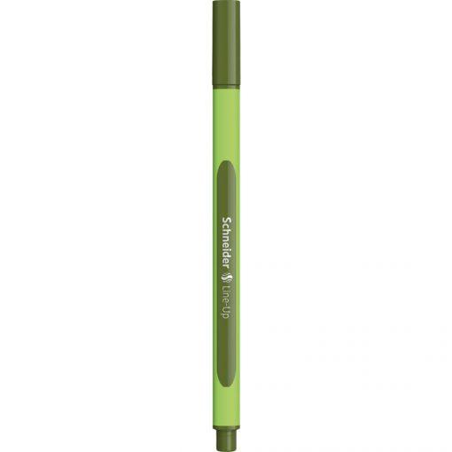 Schneider Line Up Fiber Uçlu Kalem 0.4 mm Kalem Olive Green Yeşil 191024