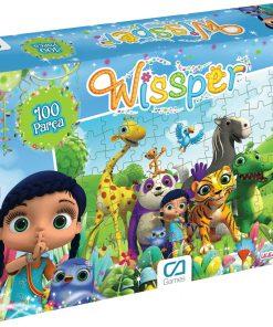 Wissper Puzzle 100 Parça Yapboz Ca Games 5067