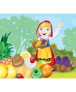 100 Parça Çocuk Yap boz 23.5x33.5 Puzzle Keskin Color Puzz Çiftlik Hayatı Model 3