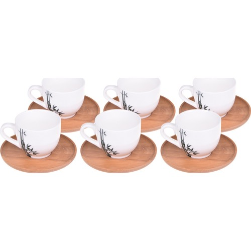 Bambum 6 Kişilik Kahve Fincan Takımı Lordi B0015
