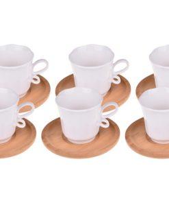 Bambum 6lı Kahve Takımı Isla B0243