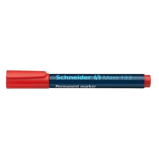 Schneider Marker Silinmez Koli Kalemi Kırmızı Renk Permanent Maxx 133 Kalem 11302