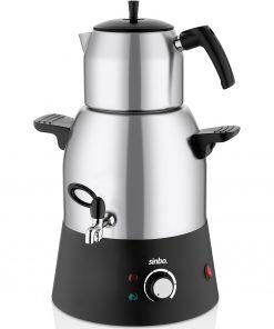 Sinbo Semaver Çay Makinesi inox Kettle Su Isıtıcı Ketıl Kablosuz Su Isıtıcı Elektrikli Çelik Kettle Stm 5817