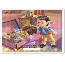 Çerçeveli Puzzle 25x35 100 Parça Keskin Color Kutusuz Yapboz Hazine Sandığı 263100-99-16