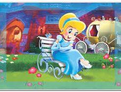 Çerçeveli Puzzle 25x35 100 Parça Keskin Color Kutusuz Yapboz Kül Kedisi 263100-99-03