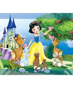 Çerçeveli Puzzle 25x35 100 Parça Keskin Color Kutusuz Yapboz Pamuk Prenses 263100-99-04