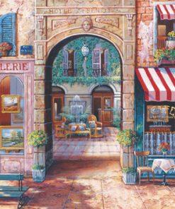 1000 Parça Puzzle Yap boz Galeri 68x48Keskin Color Puzz
