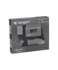 Kangaro Ss V45 Vertika Zımba Delgeç Tel Sökücü Ofis Seti Siyah