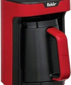 Türk Kahve Makinesi Fakir Kaave Express Kırmızı Renk Kahve Makinesi