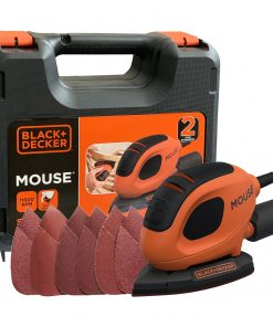 Black Decker BEW230K 55W Mouse Çok Amaçlı Zımpara