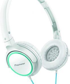 Pioneer SE-MJ512-GW Kulaküstü Kulaklık Beyaz-Turkuaz
