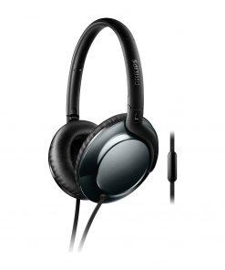 Philips Kulaklık SHL4805DC/00 Kulaküstü Mikrofonlu Kulaklık Siyah