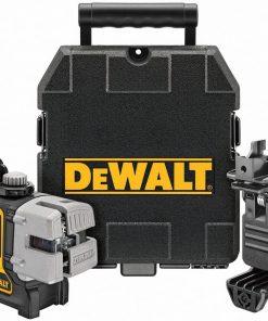 Dewalt Çizgi Lazer Dw089K Yatay Ve Dikey 90 Derece Hizalamalı Çizgi Lazer Distomati Sarı/Siyah