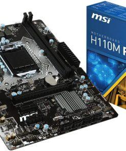 MSI H110M PRO-VH Intel LGA1151 DDR4 2133 Mhz Micro ATX Anakart
