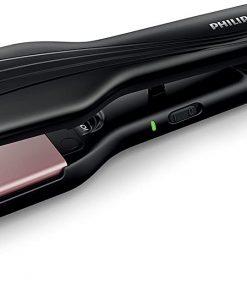 Philips Saç Düzleştirici HP8325/10 Essential Care Geniş Seramik Saç Düzleştirici Siyah
