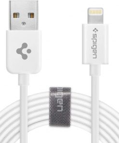 Spigen Essential Apple C20LS Lightning Şarj ve Data Kablo (2 Metre) MFI Lisanslı Made For Apple