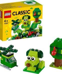 LEGO Classic 11007 Yaratıcı Yeşil Yapım Parçaları