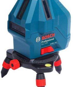 Bosch Çizgi Lazer GLL 5/50 X Çizgi Lazer Siyah/Mavi/Kırmızı