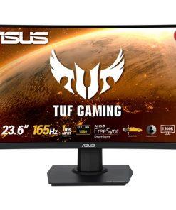 Asus Gaming Monitör TUF VG24VQE 23.6inch 1ms Full HD 165 Hz Freesync Curved Oyuncu Monitörü