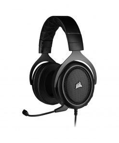 Corsair Gaming Kulaklık HS50 PRO Mikrofonlu Oyuncu Kulaklığı Siyah