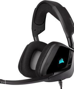 Corsair Kulaklık Void RGB Elite USB Premium 7.1 Siyah Mikrofonlu Oyuncu Kulaklığı Siyah